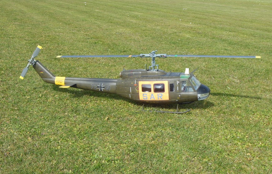 Huey500 | MasterArtHelis | Handcrafted RC Helicopter Scales